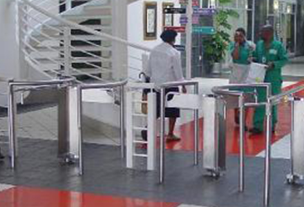 3-arm-half-height-stainless-steel-turnstile
