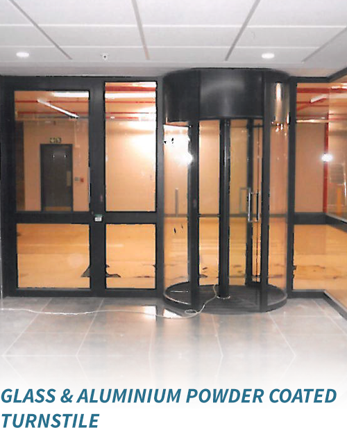 glassaluminium-powder-coated-turnstile