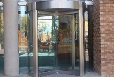 manual-stainless-steel-revolving-door-4-wing