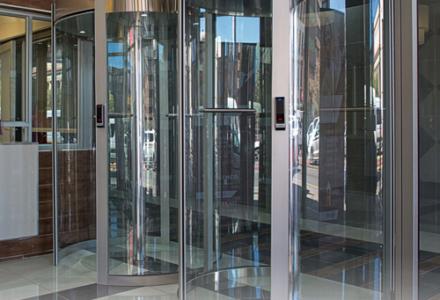 Omega Lite Revolving Doors