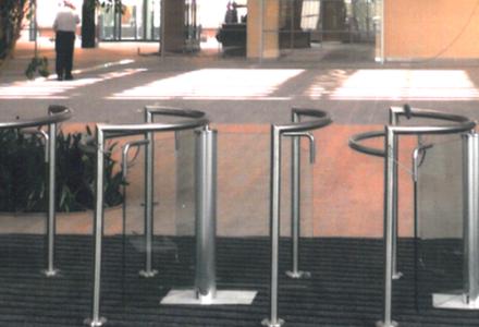 Long Pedestal Turnstile