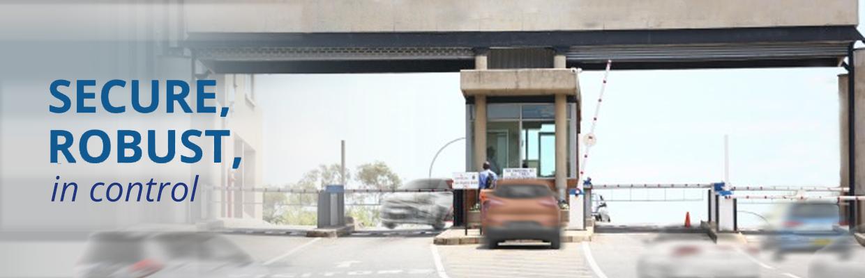 Vehicle Access Control Boom Gates