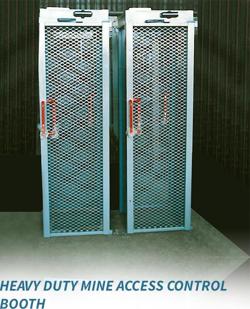Heavy Duty Mine Access Control Booth